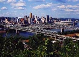 location voiture Cincinnati